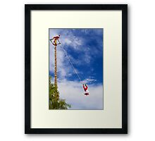 The ancient ritual for a great harvest in Teotihuacan, Mexico Framed Print