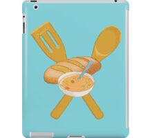 Soup and bread crest iPad Case/Skin