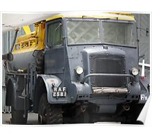 Bedford QLC Fuel Bowser Poster