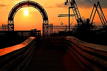 At the Gates of the Setting Sun by Richard Earl