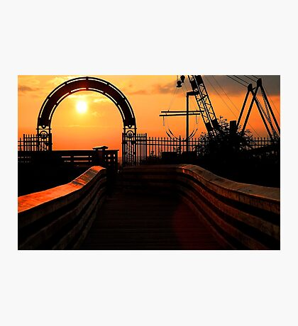 At the Gates of the Setting Sun Photographic Print