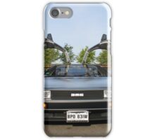 DeLorean DMC12 iPhone Case/Skin