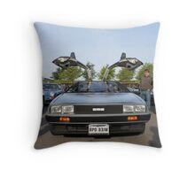 DeLorean DMC12 Throw Pillow