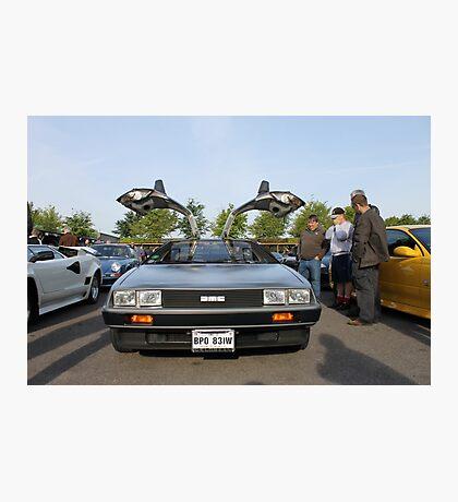 DeLorean DMC12 Photographic Print