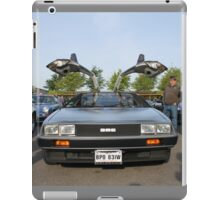 DeLorean DMC12 iPad Case/Skin