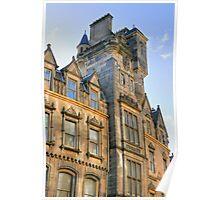 Edinburgh Architecture, Scotland, UK Poster