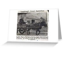 ANNALONGS GOOD SAMARITAN Greeting Card