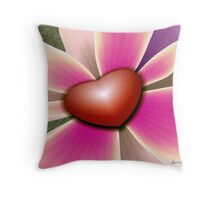 Time for Caring Throw Pillow
