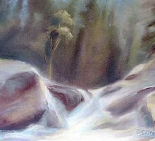 Mountain Waterfall by Patricia Seitz