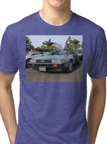 DeLorean Tri-blend T-Shirt