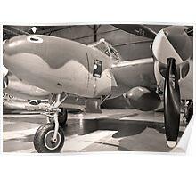 Lockheed P 38 J-10-LO Poster