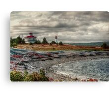 Gabarus Lighthouse Cape Breton Island Canvas Print