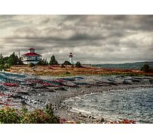 Gabarus Lighthouse Cape Breton Island Photographic Print