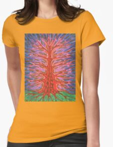 Holy Tree Womens Fitted T-Shirt