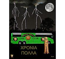 Greek Basketball Photographic Print