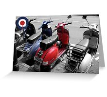 Red, White & Blue Greeting Card
