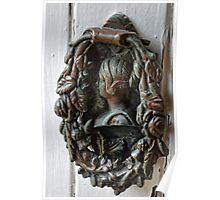 Elegant Door-knocker Poster