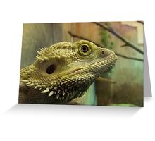 Jerry the Bearded Dragon Greeting Card