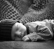 My Sweet Boy - Ten Days Old by kristideephotog