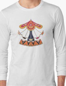 carousel damask Long Sleeve T-Shirt
