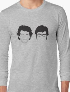 Flight of the Conchords Silly-ettes Long Sleeve T-Shirt