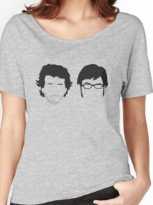 Flight of the Conchords Silly-ettes Women's Relaxed Fit T-Shirt