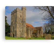 St Mary Magdalene, Stockbury. Canvas Print