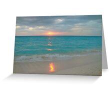 Cuba Sunset Greeting Card