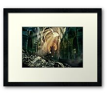 Damaged Framed Print