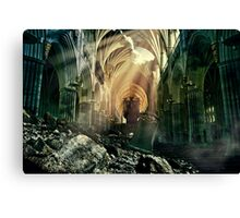 Damaged Canvas Print