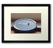 Ladybug on Canon Framed Print