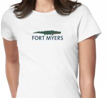 Fort Myers - Florida. Womens Fitted T-Shirt