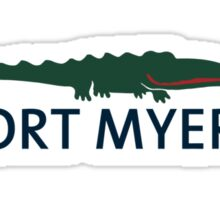 Fort Myers - Florida. Sticker
