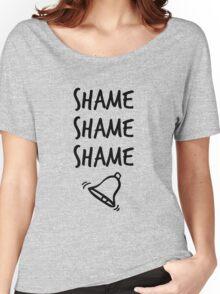 Shame. Shame. Shame. (ring) Women's Relaxed Fit T-Shirt