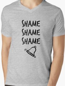 Shame. Shame. Shame. (ring) Mens V-Neck T-Shirt