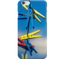 Just pegs. iPhone Case/Skin