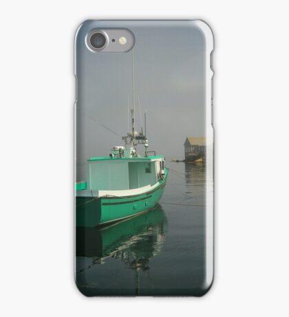 Nova Scotia Fishing Boat on the Coast iPhone Case/Skin