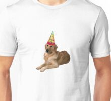 Golden Retriever Birthday Unisex T-Shirt