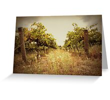 Two Vines Greeting Card