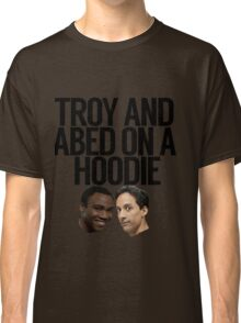 Troy And Abed On A Hoodie Classic T-Shirt