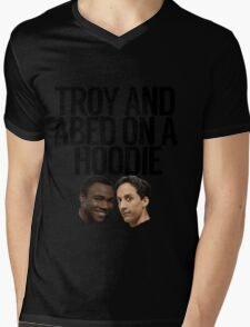 Troy And Abed On A Hoodie Mens V-Neck T-Shirt