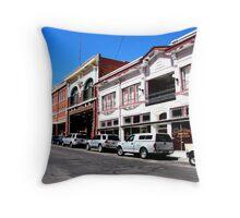 Street Scape, Bisbee, Arizona Throw Pillow