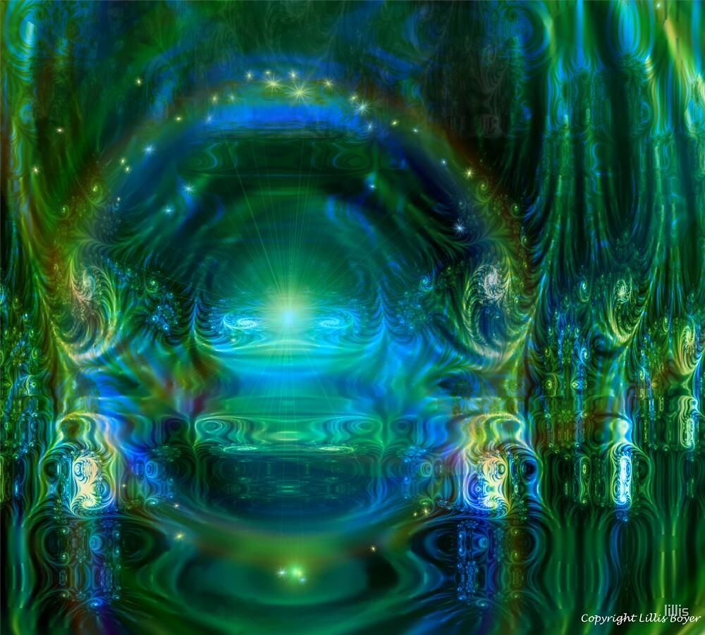 Throneroom glory: Emerald Ambience by lillis
