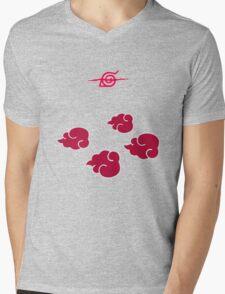 Akatsuki Clouds geek funny nerd Mens V-Neck T-Shirt