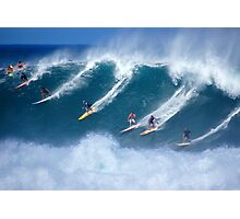 Waimea Full Flight Photographic Print