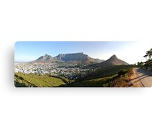 Cape Town Iconic Canvas Print
