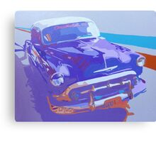 Cuban Car Canvas Print