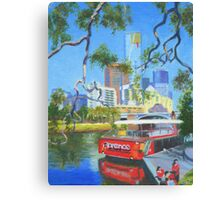 Yarra Cruiser Canvas Print