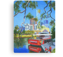 Yarra Cruiser Canvas Print