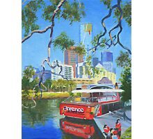 Yarra Cruiser Photographic Print